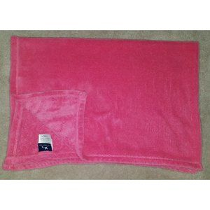 Adirondack Baby Pink Fleece Security Blanket Lovey